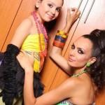 Лияна с дъщеря си Дениз