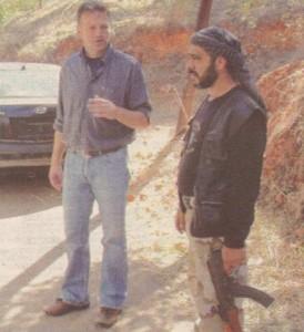 Ники Дойнов в Сирия. Документалният му филм за ужаса на войната там бе излъчен наскоро по Нова тв