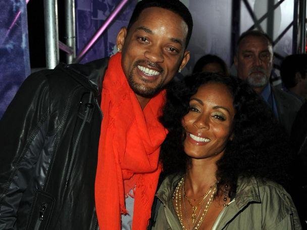 Уил Смит със съпругата си Джейда