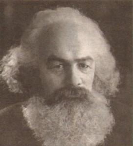 Венцислав Кисьов като Карл Маркс