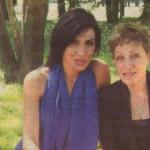Златка с майка си Маргарита