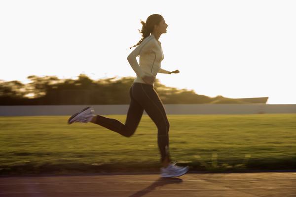отслабване с чи бягане