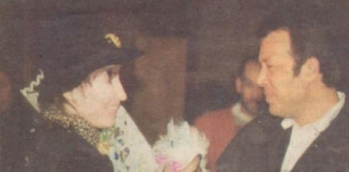 """1993 г. Лил и и нейният фен №1 на промоцията на албума й """"Хазарт"""""""