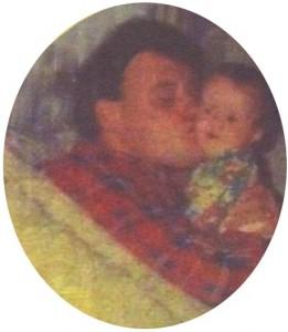 Братът на Любо Нейков - Цветан с дъщеря си Инна пред 8 години