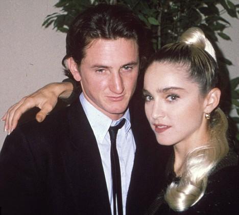 Мадона и Шон Пен  1985 г.