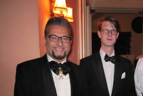 Принц Романов и лорд Минчев се забавляват на частно парти в Лондон