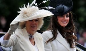 Камила и Кейт в момент на примирие