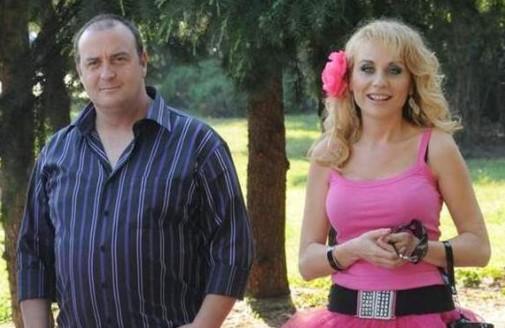 Краси Радков със съпругата си Станислава