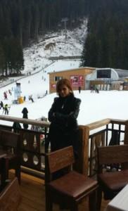 В Банско Преслава не се качила на ски, но си починала добре