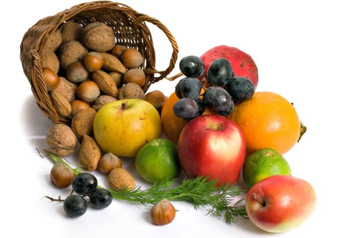 Отслабване: Плодове и Ядки