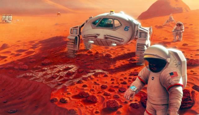 живот на марс