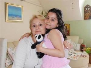 Тони Димитрова и дъщеря й Магдалена