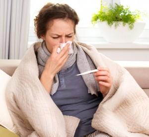 Болен от грип