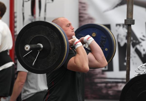фитнес тренировка за сила