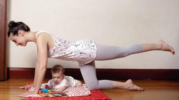 Упражнения за връщане на фигурата след раждане