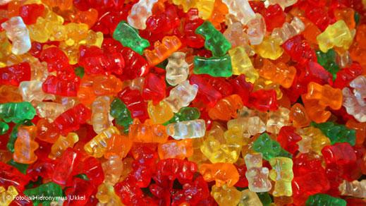 Желираните бонбони са полезни за малчуганите
