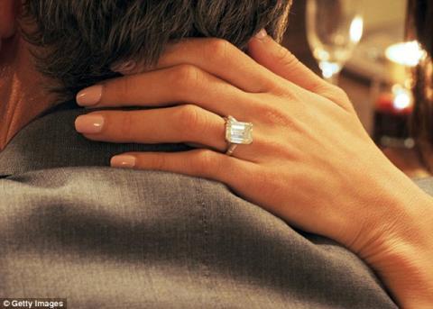 Джордж Клуни подарил на  Амал годежен пръстен за 750 000 паунда