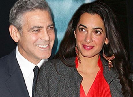 Годеницата на Джордж Клуни
