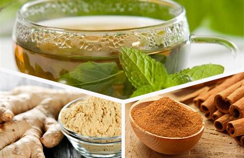 Обновете организма с чай от зелен чай, канела и джинджифил