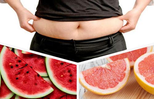 Сок за отслабване от диня и грейпфрут
