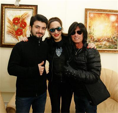 Славин с ментора си Мария Илиева и Джо Лин Търнър
