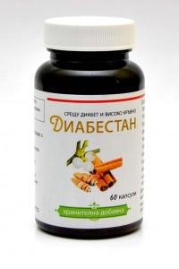 Диабестан - 60 капсули