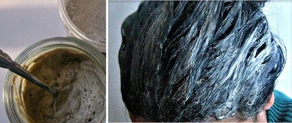 Маска за пречистване на косата от токсините