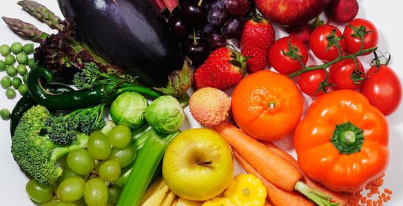 Диета според цвета на храните
