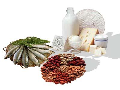 5- те храни, които съдържат най- много калций