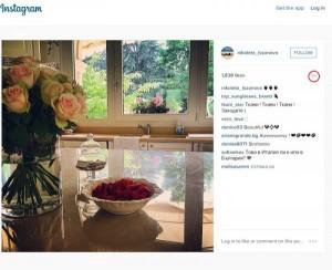 Николета представя снимката като своя преди 5 седмици