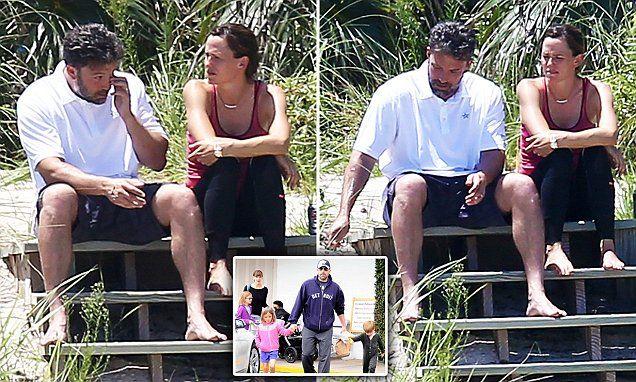 Бен и Джен на Бахамите, след като обявиха, че се развеждат