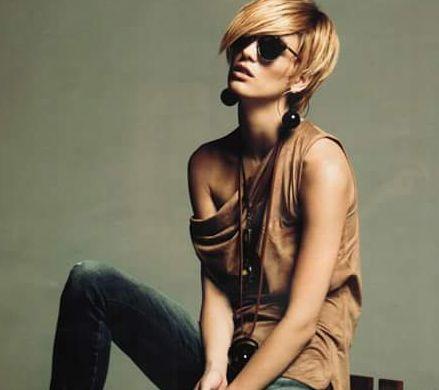 Луиза Григорова отряза дългата си коса и се изруси