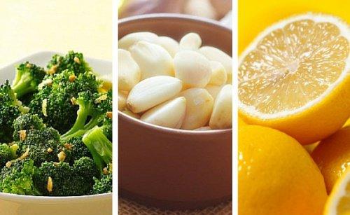 Рецепта с броколи, лимон и чесън за вашата диета за отслабване