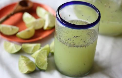 Рецепта за отслабване с лимон и чия
