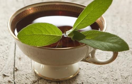 Рецепта със салвия и оцет за коса