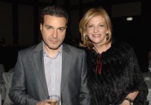 Миа Сантова със съпруга си Светослав