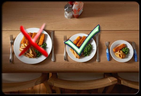Наистина ли малките порции храна помагат за отслабването?