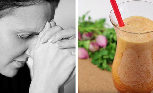 Рецепта за сок при тревожност
