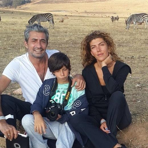 Семейството на актьора