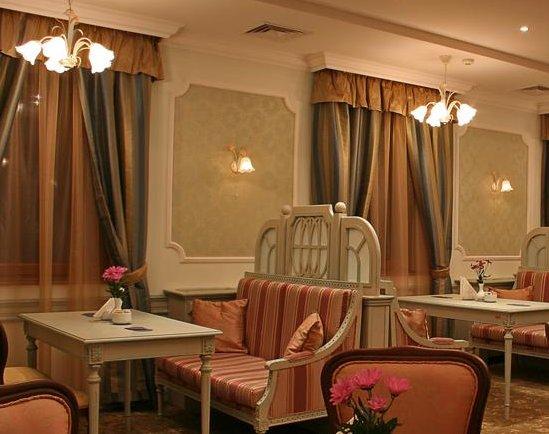Луксозната обстановка в хотела в Силистра