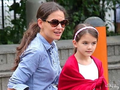 Дъщерята на Кейти и Том е вече на 9 години
