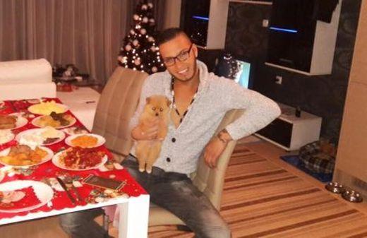 Тъжно! Джино самотен на Коледа! – виж снимки: