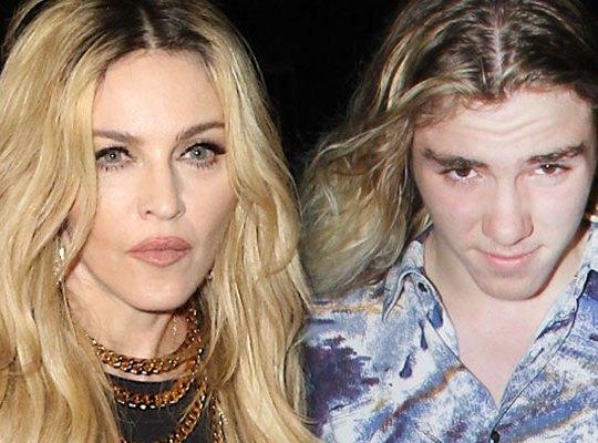 Шок! Синът на Мадона избяга от нея! Иска при баща си!