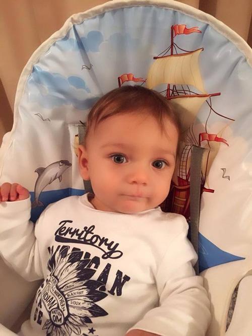Малкият Митко на 1 година