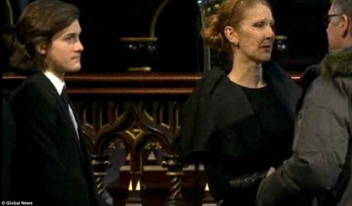 Селин Дион погреба съпруга си Рене Анжелил! Снимки от церемонията: