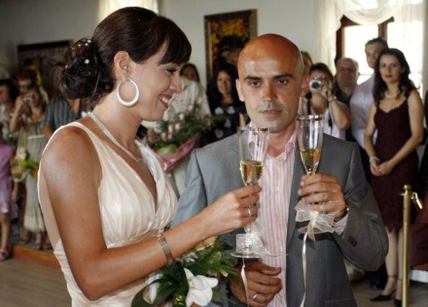 Сватбата на Виктория Петрова с оператора Добри