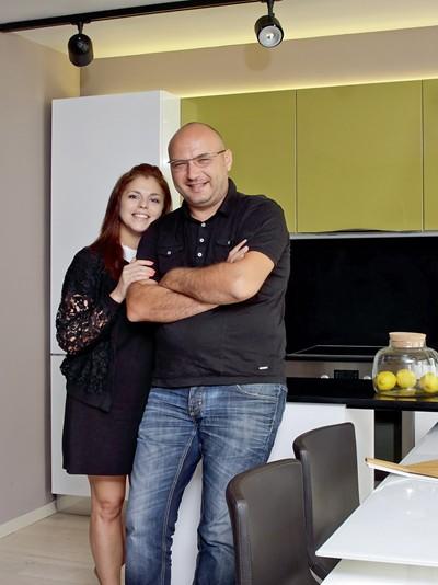 Шеф Манчев със съпругата си Марияна