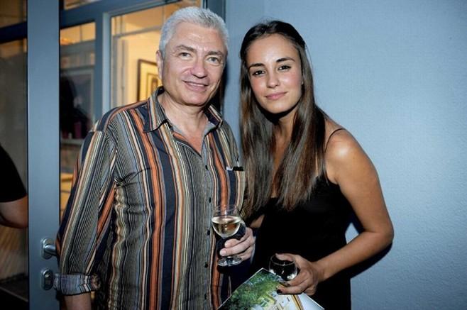 Христо Кърджилов с дъщеря си Радина