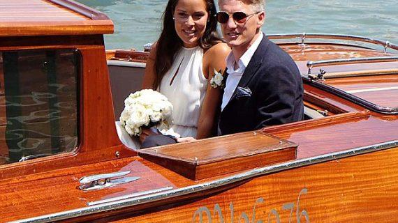 Сватбата на Швайнщайгер и Ана Иванович – Венецианска Приказка! Уникални Снимки: