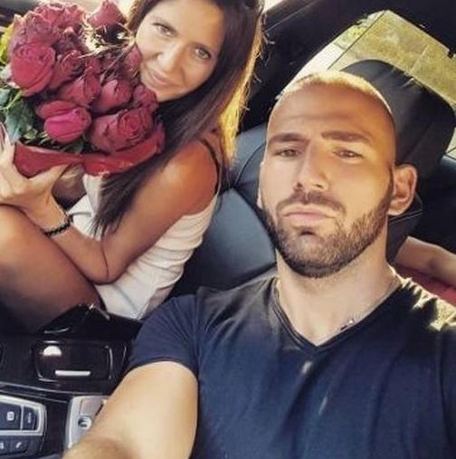 Наско с годеницата си Надя